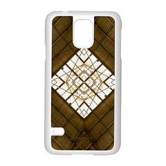Steel Glass Roof Architecture Samsung Galaxy S5 Case (white)