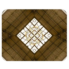 Steel Glass Roof Architecture Double Sided Flano Blanket (Medium)