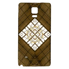 Steel Glass Roof Architecture Galaxy Note 4 Back Case