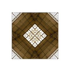 Steel Glass Roof Architecture Satin Bandana Scarf