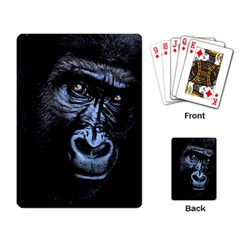 Gorilla Playing Card