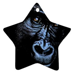 Gorilla Star Ornament (Two Sides)