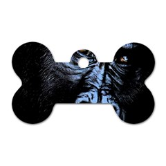 Gorilla Dog Tag Bone (Two Sides)