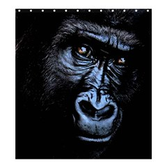 Gorilla Shower Curtain 66  x 72  (Large)