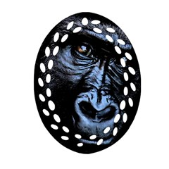 Gorilla Ornament (oval Filigree)