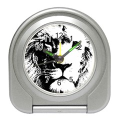 Lion  Travel Alarm Clocks