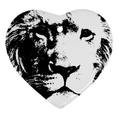 Lion  Heart Ornament (Two Sides)