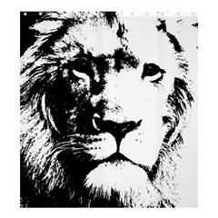 Lion  Shower Curtain 66  x 72  (Large)