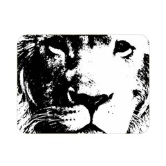 Lion  Double Sided Flano Blanket (Mini)