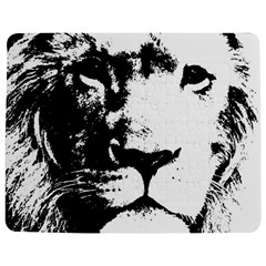 Lion  Jigsaw Puzzle Photo Stand (Rectangular)