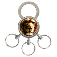 Lion  3-Ring Key Chains