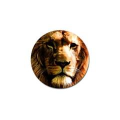 Lion  Golf Ball Marker (4 pack)