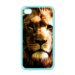 Lion  Apple iPhone 4 Case (Color)
