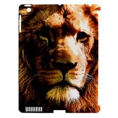 Lion  Apple iPad 3/4 Hardshell Case (Compatible with Smart Cover)