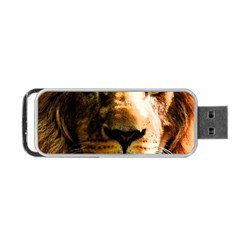 Lion  Portable USB Flash (One Side)