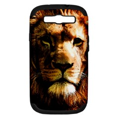 Lion  Samsung Galaxy S III Hardshell Case (PC+Silicone)