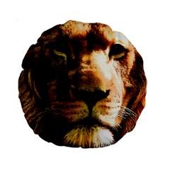 Lion  Standard 15  Premium Round Cushions