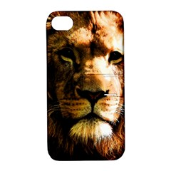 Lion  Apple iPhone 4/4S Hardshell Case with Stand
