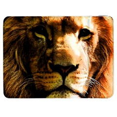 Lion  Samsung Galaxy Tab 7  P1000 Flip Case