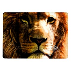 Lion  Samsung Galaxy Tab 10.1  P7500 Flip Case