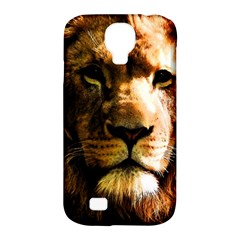 Lion  Samsung Galaxy S4 Classic Hardshell Case (PC+Silicone)