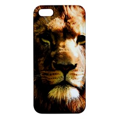 Lion  iPhone 5S/ SE Premium Hardshell Case