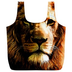 Lion  Full Print Recycle Bags (L)