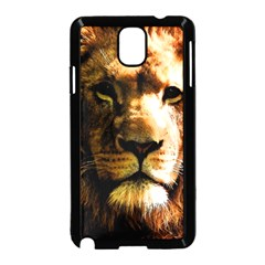 Lion  Samsung Galaxy Note 3 Neo Hardshell Case (Black)