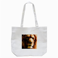 Lion  Tote Bag (White)