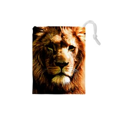 Lion  Drawstring Pouches (Small)