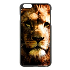 Lion  Apple iPhone 6 Plus/6S Plus Black Enamel Case