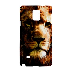 Lion  Samsung Galaxy Note 4 Hardshell Case