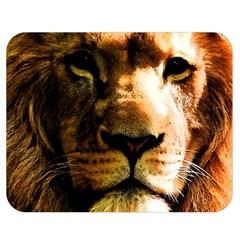 Lion  Double Sided Flano Blanket (Medium)