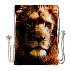 Lion  Drawstring Bag (Large)