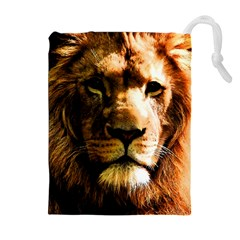 Lion  Drawstring Pouches (Extra Large)