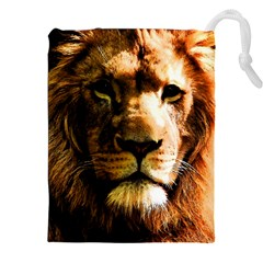 Lion  Drawstring Pouches (XXL)