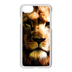 Lion  Apple iPhone 7 Seamless Case (White)