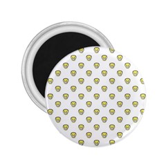 Angry Emoji Graphic Pattern 2.25  Magnets
