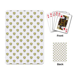 Angry Emoji Graphic Pattern Playing Card