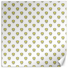 Angry Emoji Graphic Pattern Canvas 12  x 12