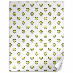 Angry Emoji Graphic Pattern Canvas 12  x 16