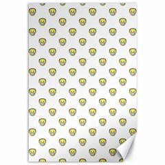 Angry Emoji Graphic Pattern Canvas 12  x 18