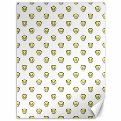 Angry Emoji Graphic Pattern Canvas 36  x 48