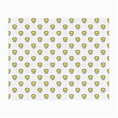 Angry Emoji Graphic Pattern Small Glasses Cloth (2-Side)