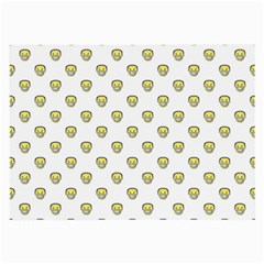 Angry Emoji Graphic Pattern Large Glasses Cloth