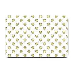 Angry Emoji Graphic Pattern Small Doormat