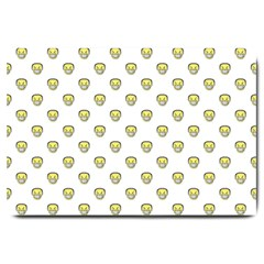 Angry Emoji Graphic Pattern Large Doormat