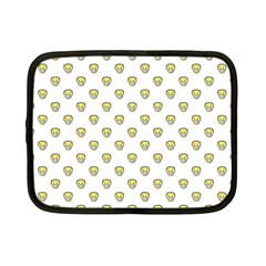 Angry Emoji Graphic Pattern Netbook Case (Small)