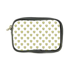 Angry Emoji Graphic Pattern Coin Purse