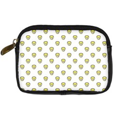 Angry Emoji Graphic Pattern Digital Camera Cases